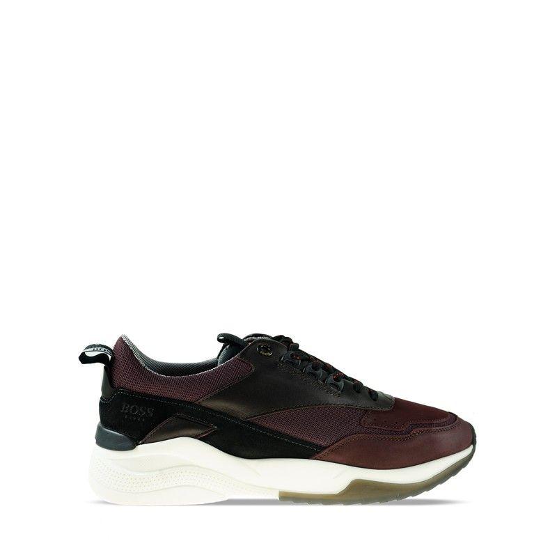 Ανδρικά Sneaker Boss R512 Bordo Milano