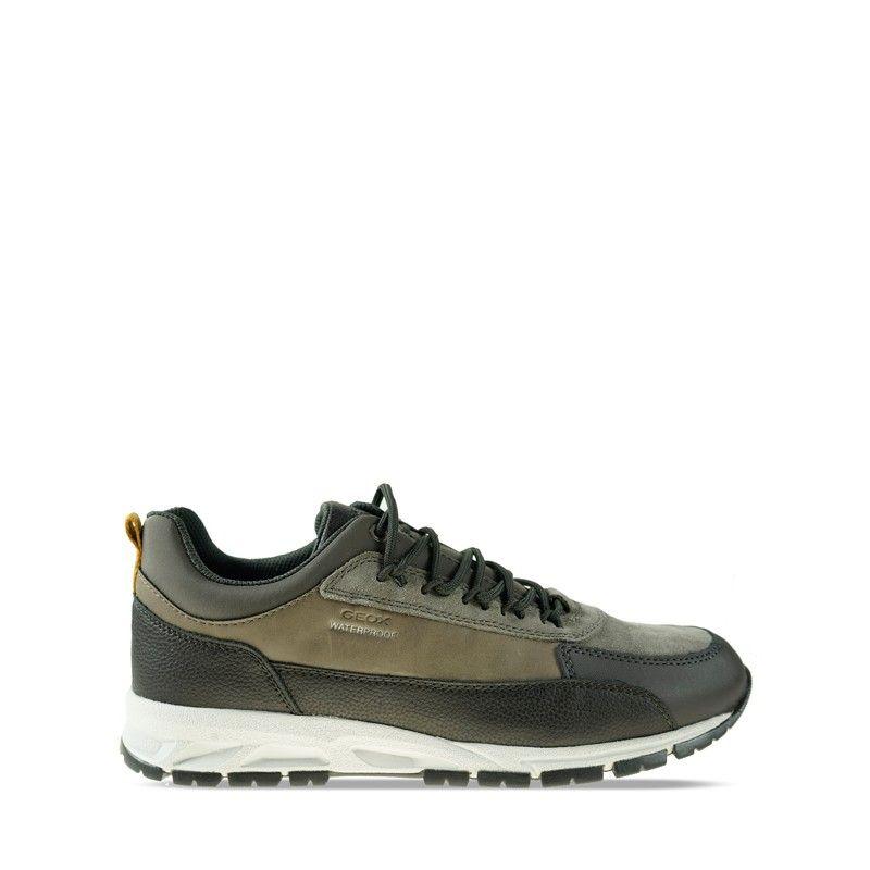Ανδρικά Sneakers Geox Delray B WTF DK Coffee Dove Grey