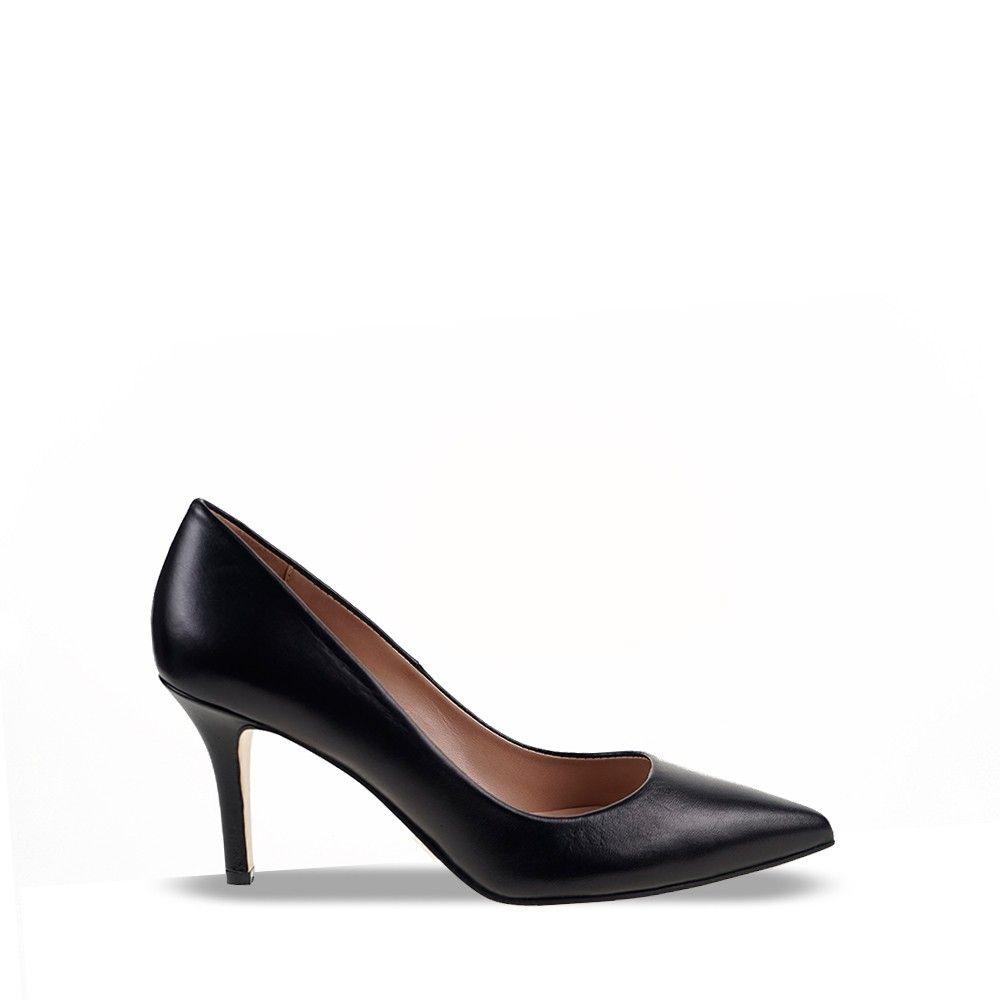 Δερμάτινες Γόβες Mourtzi 71100 Black
