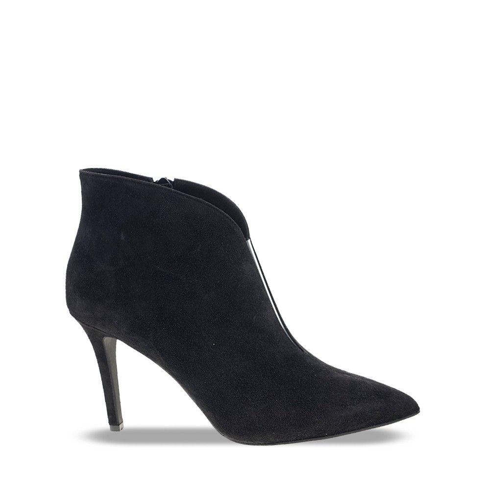 Γυναικείο Μποτάκι Καστόρι Mourtzi 85406 Black