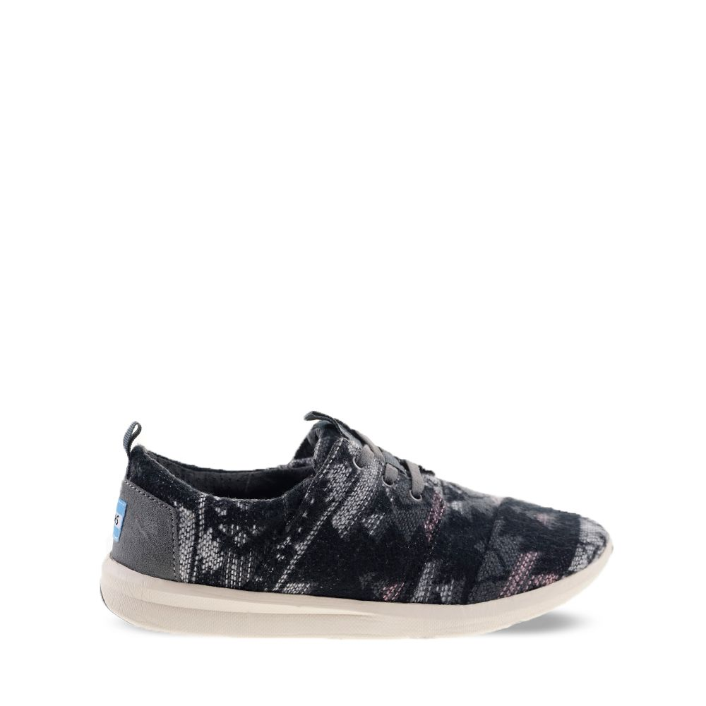 Γυναικεία Casual Toms Del Rey Grey Tribal Wool