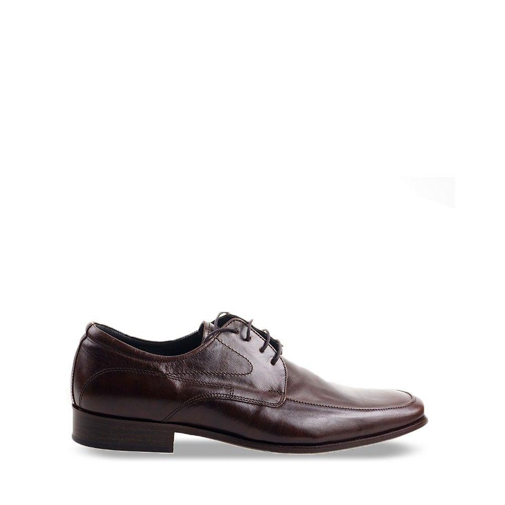 Ανδρικό παπούτσι Anteos 766 Dark Brown