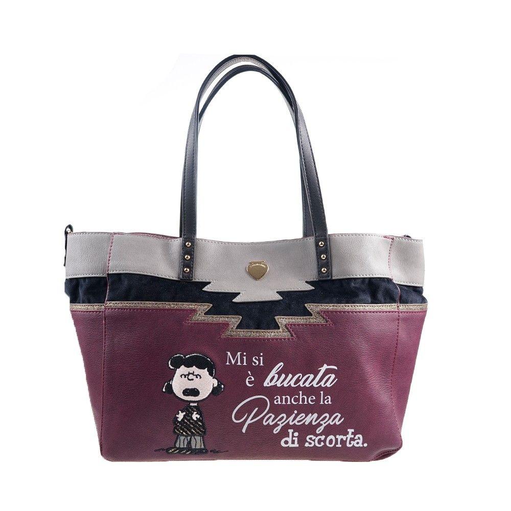 Γυναικεία Τσάντα Le Pandorine Capsule Peanuts Shopper