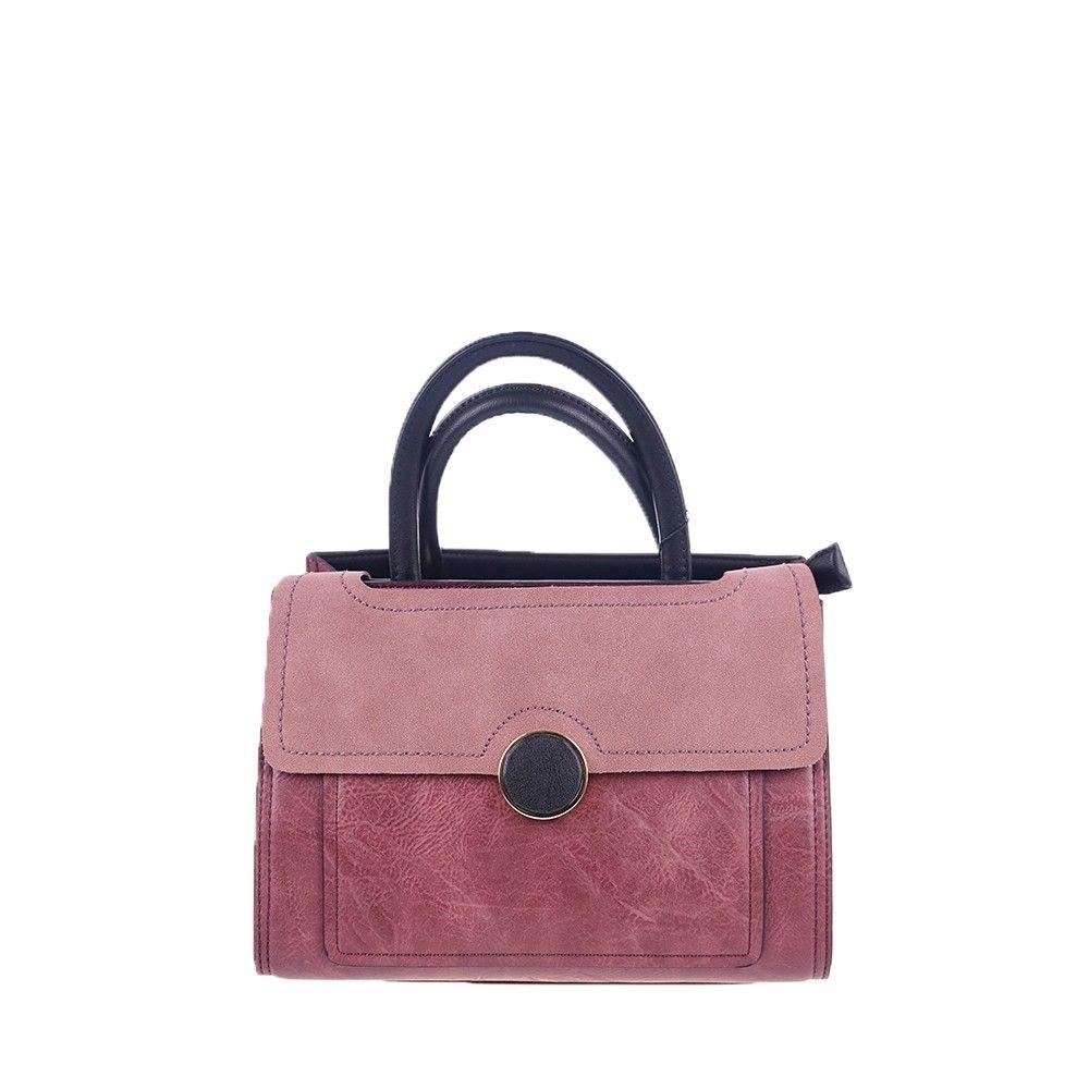 Γυναικεία Τσάντα Ώμου Anna Smith - The Classic Pink