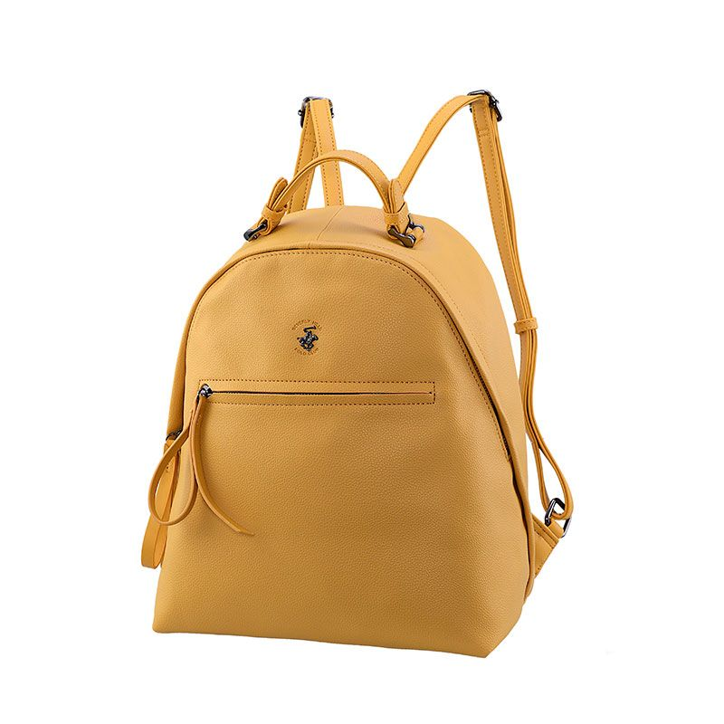 Γυναικείο Backpack Beverly Hills Polo Club  Bahamas Zaino 2423 ocra