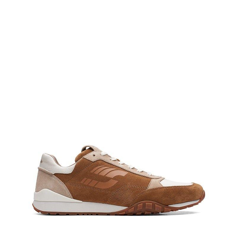 Ανδρικά Sneakers Clarks CraftLo Lace Dark Tan Combi
