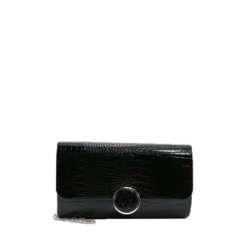 Γυναικείο Handbag Tamaris Amalia 30456 Black kroko