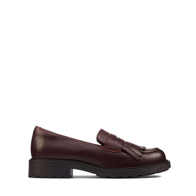 Γυναικεία Clarks Orinoco2Loafer Burgundy Leather