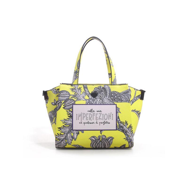 Γυναικείο Handbag Lepandorine Lampone IMPERFEZIONI Yellow