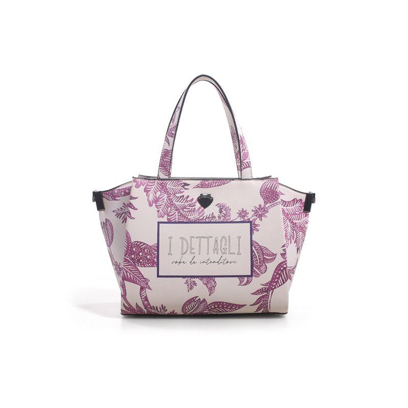 Γυναικείο Handbag Lepandorine Lampone DETTAGLI Offwhite