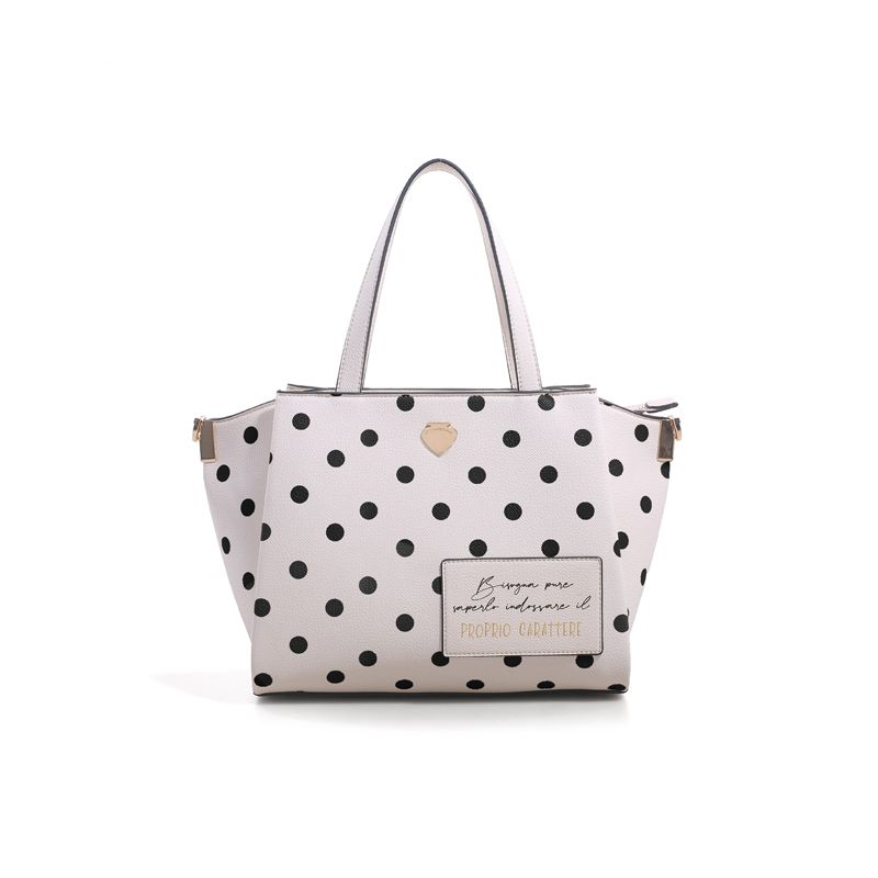 Γυναικείο Handbag Lepandorine Lampone CARATTERE Offwhite