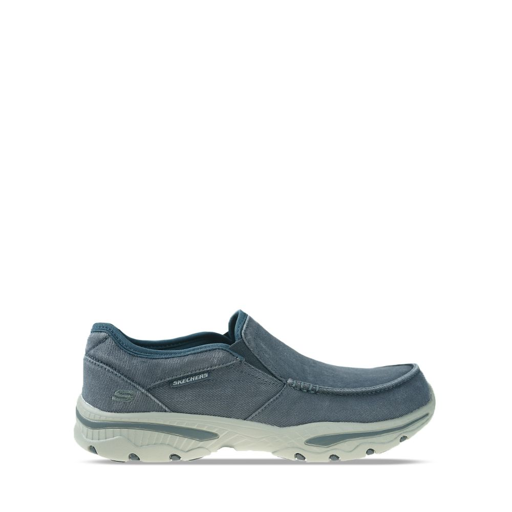 Ανδρικά Slip-on Skechers Moc toe Navy