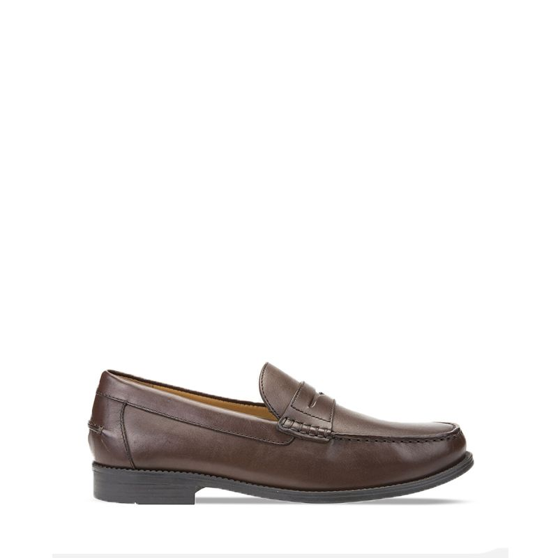 Ανδρικά Loafers Geox New Damon Dk Brown U641ZA00043C6006