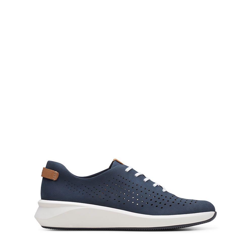 Γυναικεία Sneakers Clarks Un Rio Tie Navy