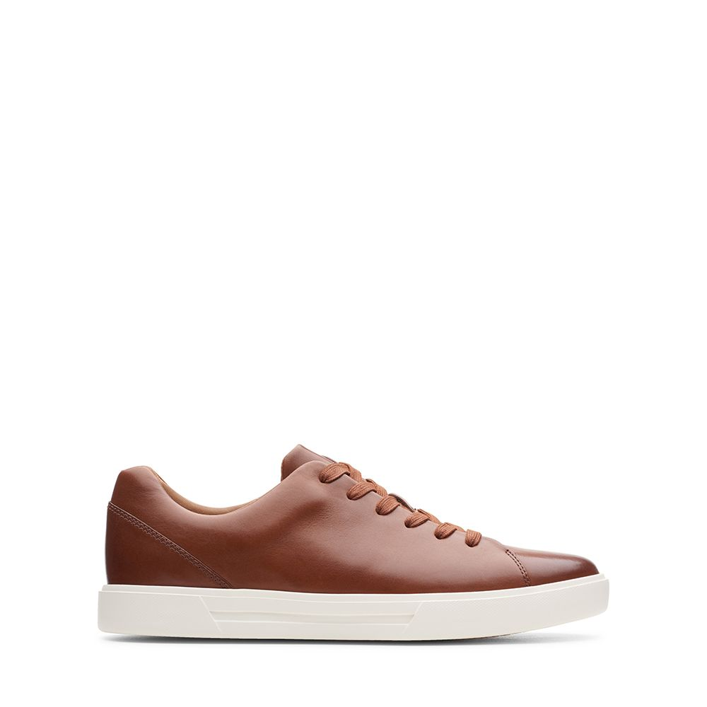 Ανδρικά Sneakers Clarks Un Costa Lace Tan Leather