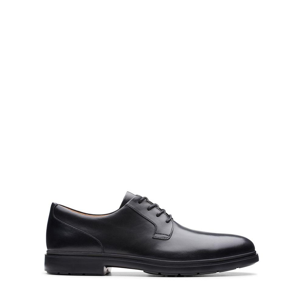 Ανδρικά Casual Παπούτσια Clarks Un Tailor Tie Black