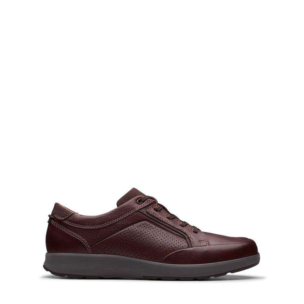 Ανδρικά casual Παπούτσια Clarks UN Trail Form Dark Brown